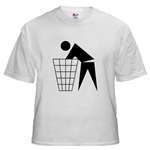 Funny Offensive T-shirts : Trash Zone II